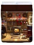 Holiday Spirit Duvet Cover