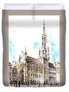 Holland Beautiful Town Duvet Cover