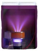 Hollow-anode Nitrogen Plasma Source Duvet Cover