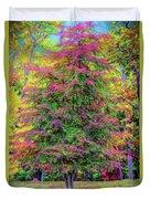 Holly Jolly Tree Duvet Cover
