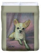 Holly The Chihuahua Duvet Cover
