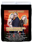 Hollywood P.d. Undercover Duvet Cover