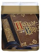 Holy Bible Duvet Cover