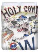 Holy Cow  Duvet Cover