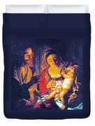 Holy Fruits Duvet Cover