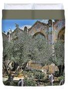Holy Gardens Duvet Cover
