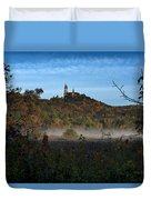Holy Hill In Fall Duvet Cover