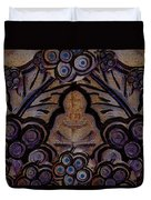 Holy In Peace And Acryl Duvet Cover