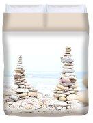 Holy Island Pebbles Duvet Cover