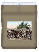 Holy Land: Bedouin Camp Duvet Cover