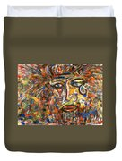 Holy Man Duvet Cover