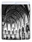 Holy Name Cathedral Chicago Bw 03 Duvet Cover
