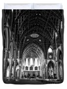 Holy Name Cathedral Chicago Bw 04 Duvet Cover