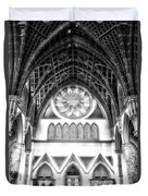 Holy Name Cathedral Chicago Bw 06 Duvet Cover