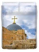 Holy Sepulcher Duvet Cover