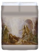Holy Spirit Comes Duvet Cover