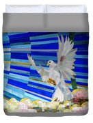 Holy Spirit Dove Duvet Cover