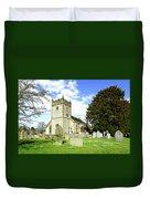 Holy Trinity Church - Ashford-in-the-water Duvet Cover