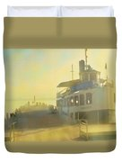 Home By Sunset Duvet Cover