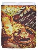 Home Cinema Art Duvet Cover
