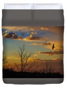 Home For The Night Duvet Cover