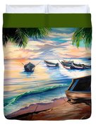Home From The Sea Duvet Cover