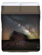 Home Grown Milky Way  Duvet Cover