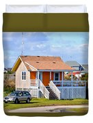 Home In Nags Head 3 Duvet Cover