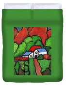 Home In The Country Duvet Cover