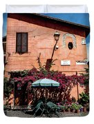Home In The Piazza Duvet Cover