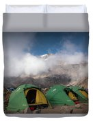 Home In The Sky Duvet Cover