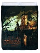 Home Of Darkness Duvet Cover