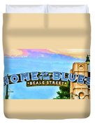 Home Of The Blues - Beale Street Duvet Cover