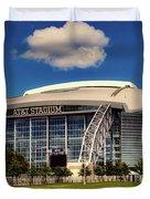 Home Of The Dallas Cowboys Duvet Cover