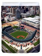 Home Of The Orioles - Camden Yards Duvet Cover
