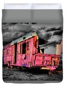 Home Pink Home Black And White Duvet Cover