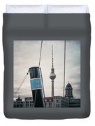 Home Port Berlin Duvet Cover