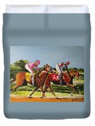 Home Stretch Duvet Cover by Judy Kay