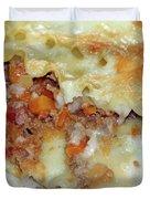 Homemade Lasagna Duvet Cover