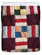 Homemade Quilt Duvet Cover
