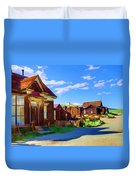 Homes Of The Past Duvet Cover