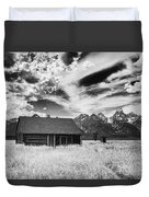 Homestead Mormon Row Duvet Cover