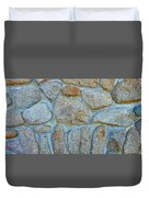 Homestead Stonework Duvet Cover