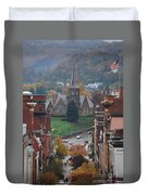 My Hometown Cumberland, Maryland Duvet Cover
