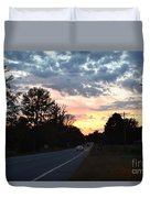 Homeward Bound Evening Sky Duvet Cover