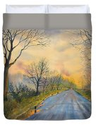 Homeward Bound For Kilham Duvet Cover