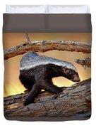 Honey Badger  Duvet Cover
