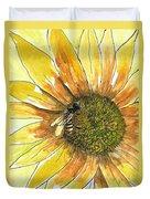 Honey Bee Duvet Cover