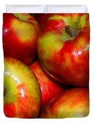 Honeycrisp Apples Duvet Cover
