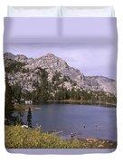 Honeymoon Lake Duvet Cover